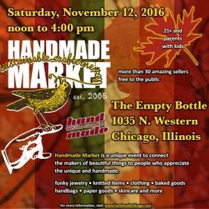 Handmade Market Chicago @ The Empty Bottle