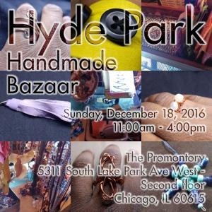 Hyde Park Handmade Artisan Bazaar @ The Promontory